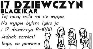 17 dziewczyn