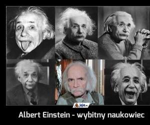 Albert Einstein - wybitny naukowiec