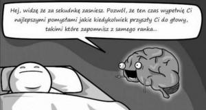 Mózg wieczorową porą