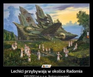 Lechici przybywają w okolice Radomia
