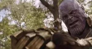 Scena śmierci Thanosa