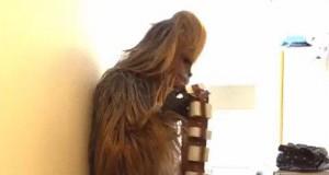 Chewbacca robi pranie