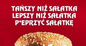 Kiedy widzę menu w McDonald's