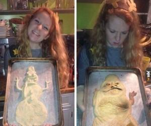 No co? Ładny Jabba wyszedł