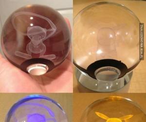 Holograficzne pokeballe