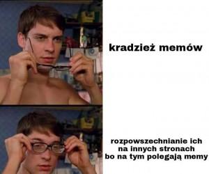 "Mem, którego nikt nie ""kradnie"", nie byłby już memem"