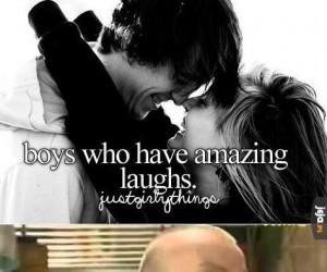Chłopcy, którzy mają niesamowity śmiech