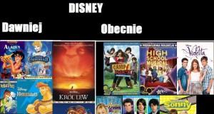 Disney dawniej i obecnie