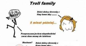 Rodzinka trolli