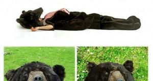 Śpiwór odstraszający dzikie zwierzęta