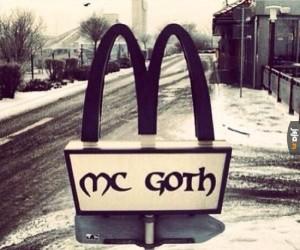 McDonald's dla gothów