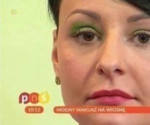 Modny makijaż