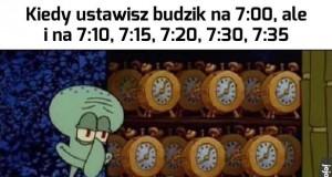 Tym razem na pewno się nie spóźnię