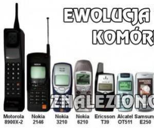 Ewolucja telefonów komórkowych