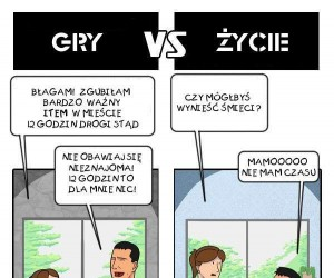 Gry vs Życie