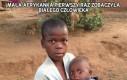 Mała Afrykanka pierwszy raz zobaczyła białego człowieka