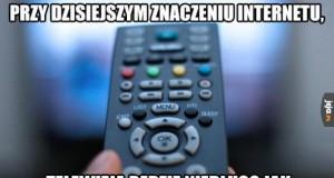 Telewizja jaką znamy odchodzi do lamusa...