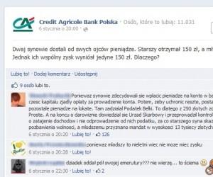Zagadka Credit Agricole - Pieniądze