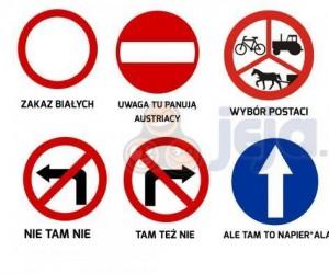 Znaki w tłumaczeniu na polski