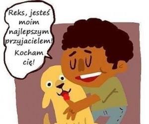 Pies najlepszym przyjacielem