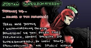 Zostań superbohaterem! Już dziś!