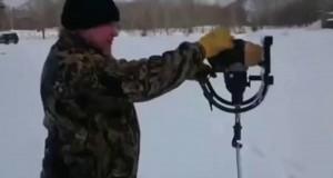 Jak wywiercić dziurę w lodzie