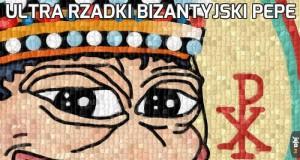 Ultra rzadki bizantyjski Pepe