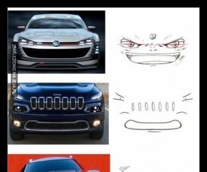 Gdyby samochody miały twarze