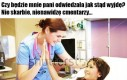 Szczera pielęgniarka