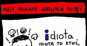 Mały słownik: idiota