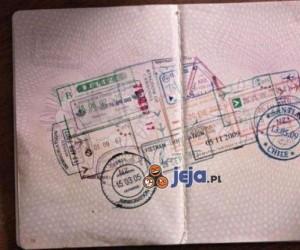 Niezwykły paszport podróżnika