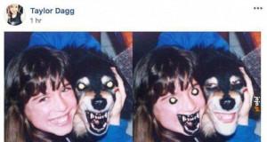 Przerażająca zamiana twarzy