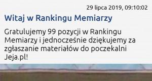 Mocna pozycja w rankingu