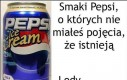 Smaki Pepsi, o których nie miałeś pojęcia