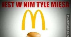Cheesburger z MCD