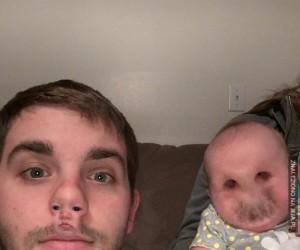 Najstraszniejsza zamiana twarzy