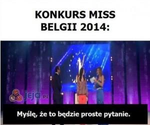 Konkurs na miss Belgii