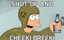 Shut up and
