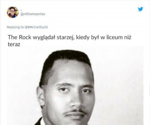 The Rock w liceum