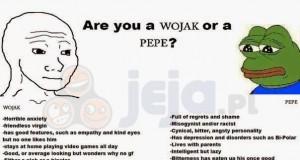Wojak czy Pepe?