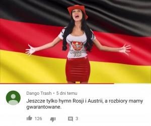 Niech lepiej poprzestanie na niemieckim