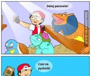 Pokemony w akwarium