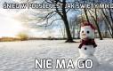 Śnieg jak święty mikołaj