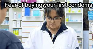 Kupowanie kondomów takie jest