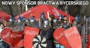 Nowy sponsor bractwa rycerskiego