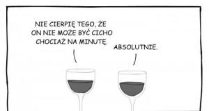 Wino wytrawne nie trawi szampana