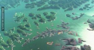 Shi Cheng - podwodne miasto w Chinach