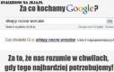 Za co kochamy Google?