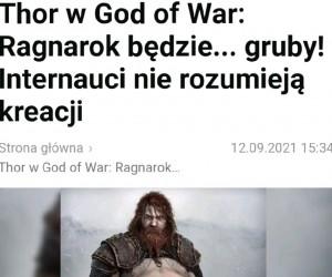 Gigantyczny bebech Thora