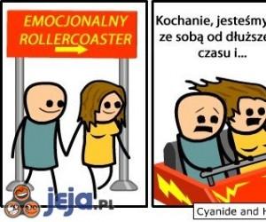 Emocjonalny Rollercoaster